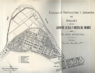 1. Plano de la Estación de Horticultura y Jardinería